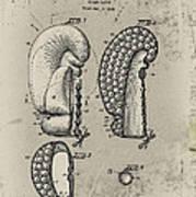 1948 Boxing Glove Patent Art Print