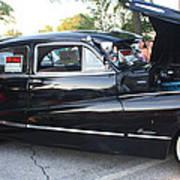 1948 Buick Four Door Sedan Side View Poster