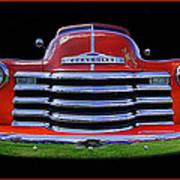 1948 Chevy Pickup W/badge Art Print