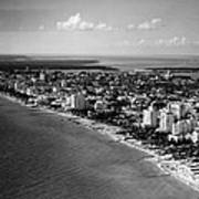 1948 Miami Beach Florida Art Print