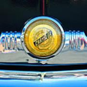 1949 Chrysler Windsor Grille Emblem Art Print