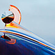 1949 Ford Hood Ornament 2 Art Print