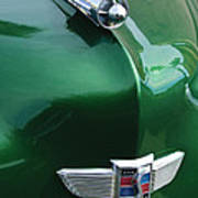 1949 Studebaker Champion Hood Ornament Art Print
