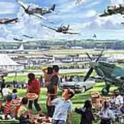 1950 Airshow Art Print