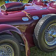 1950 Allard J2 Competition Roadster Art Print