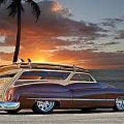 1950 Buick Woody Wagon Xi Art Print