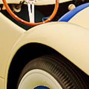 1950 Eddie Rochester Anderson Emil Diedt Roadster Steering Wheel Art Print
