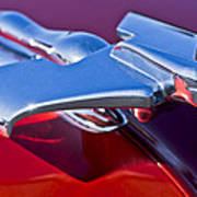 1950 Nash Hood Ornament Art Print