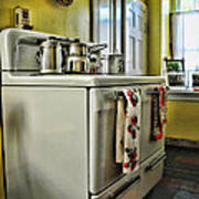 1950's Kitchen Stove Art Print
