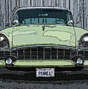 1950's Packard Art Print