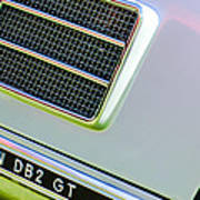 1951 Aston Martin Db2 Coupe Side Emblem Art Print