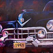 1951 Cadillac Art Print