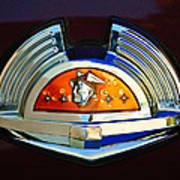 1951 Mercury Emblem Art Print