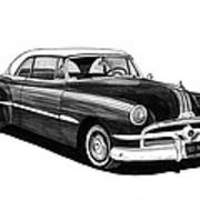 1951 Pontiac Hard Top Print by Jack Pumphrey