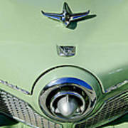 1951 Studebaker Commander Hood Ornament 2 Art Print