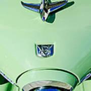 1951 Studebaker Commander Hood Ornament Art Print