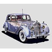 1952 Bentley M K Four Art Print