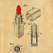 1952 Chanel Lipstick Case 4 Art Print