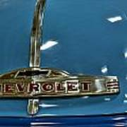 1952 Chevrolet Pickup Hood Art Print