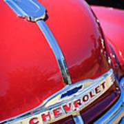 1952 Chevrolet Suburban Hood Ornament Art Print