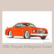 1952 Chrysler Delegance Concept Print by Jack Pumphrey