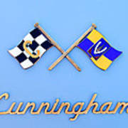 1952 Cunningham C-3 Vignale Cabriolet Emblem Art Print
