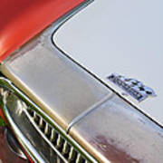1952 Cunningham C-3 Vignale Cabriolet Grille - Hood Emblem Art Print
