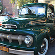 1952  Ford Pick Up Truck Front And Side View Art Print