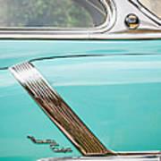 1952 Oldsmobile 98 Holiday Hardtop Side Emblem -1454c Art Print