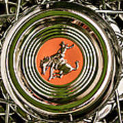 1952 Sterling Gladwin Maverick Sportster Wheel Emblem - 1720c Art Print