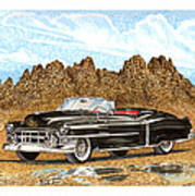 1953 Cadillac Eldorado Biarritz Art Print
