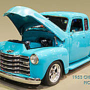 1953 Gmc Pickup Truck Art Print