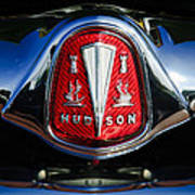 1953 Hudson Hornet Sedan Emblem Art Print