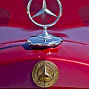 1953 Mercedes Benz Hood Ornament Art Print