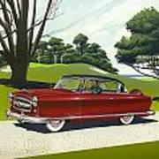 1953 Nash Rambler - Square Format Image Picture Art Print