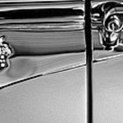 1953 Packard Caribbean Convertible Emblemblem Art Print