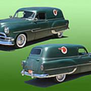 1953 Pontiac Panel Delivery Art Print
