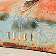 1954 Buick Special Hood Ornament Art Print by Jill Reger