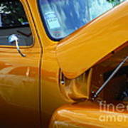 1954 Chevrolet And A 1963 Lemans Reflection Art Print
