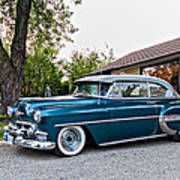 1954 Chevrolet Bel Air Art Print
