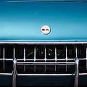 1954 Chevrolet Corvette Grille Emblem -249c Art Print