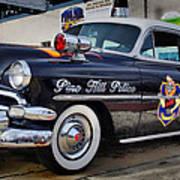 1954 Chevy Dare Police Car  Pine Hill  Nj Art Print