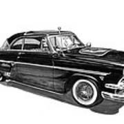 1954 Ford Skyliner Art Print