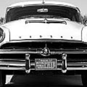 1954 Hudson Hornet In Black Art Print