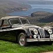 1954 Jaguar Xk140  Art Print