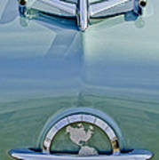 1954 Oldsmobile Super 88 Hood Ornament Art Print