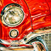 1955 Buick Century Art Print