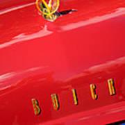1955 Buick Roadmaster Hood Ornament - Emblem Art Print