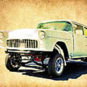 1955 Chevrolet Gasser Art Print