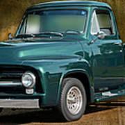 1955 Ford Truck Art Print